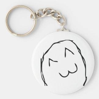Kitteh Smile Troll Key Ring