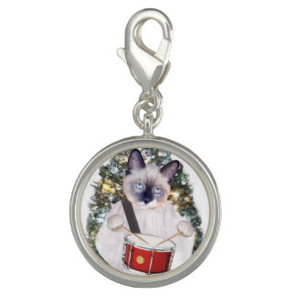 Kitten Carol Holiday Charm
