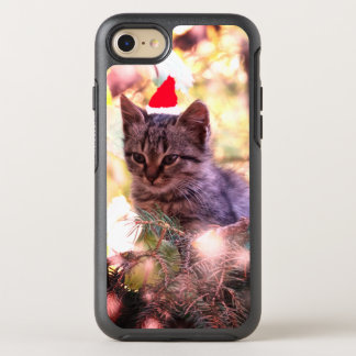 Kitten , Cat , Merry Christmas iPhone Case