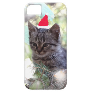 Kitten Christmas  iPhone 5/5S, Barely There iPhone 5 Cover