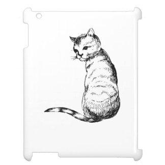 Kitten Drawing iPad Case