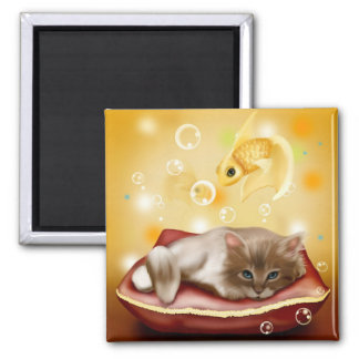 Kitten Dreams Magnet