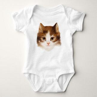Kitten Face Kids T-Shirt