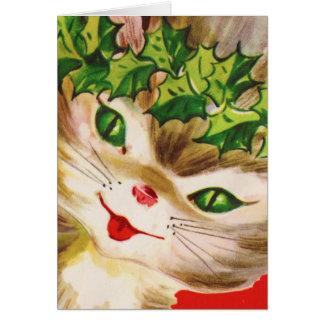Kitten, Fröhliche Weihnachten! Card