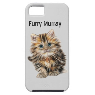 Kitten Furry Murray So Cute and Hairy Case For The iPhone 5
