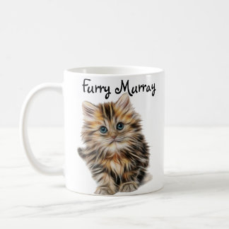 Kitten Furry Murray So Cute and Hairy Coffee Mug