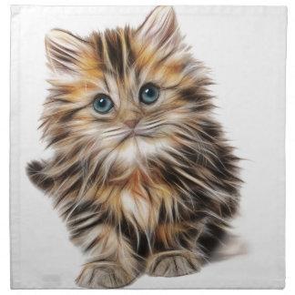 Kitten Gifts Napkin