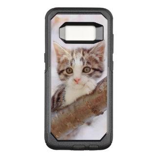 Kitten In A Tree OtterBox Commuter Samsung Galaxy S8 Case