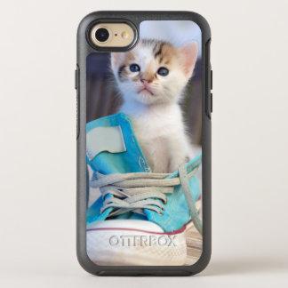 Kitten In Blue Shoe OtterBox Symmetry iPhone 8/7 Case