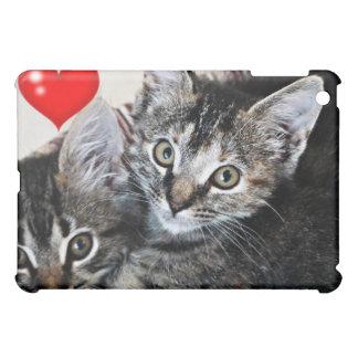Kitten Love bug heart ipad speck case iPad Mini Case