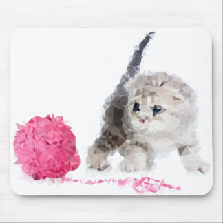 Kitten Mimi Mouse mat