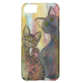 Kitten Monsters Watercolor iPhone 5C Case