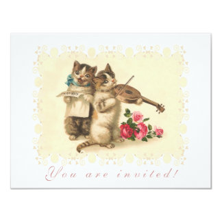 Kitten Music Recital Card