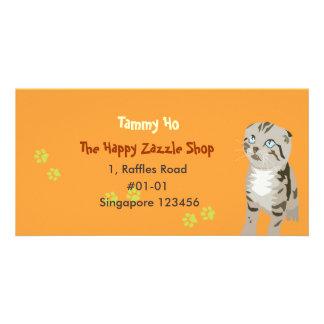 Kitten Namecard Photo Card