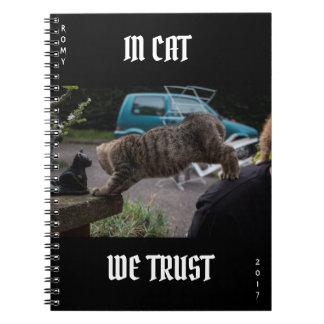 Kitten Notebook, IN CAT WE TRUST 2017 Notebooks