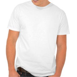 Kitten on Black and White Polka Dots Tshirts