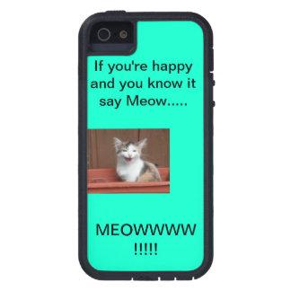 Kitten or cat iphone case