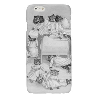 Kitten Pillow Fight! Louis Wain iphone6 Case