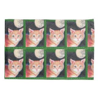 kitten pillowcase