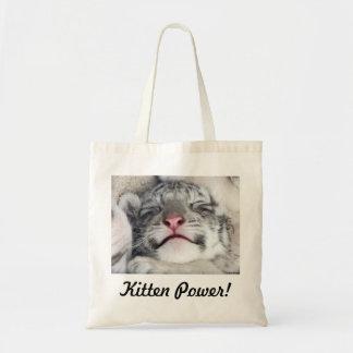 Kitten Power! Tote Bag