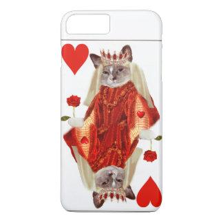 Kitten Queen of Hearts IPhone Case