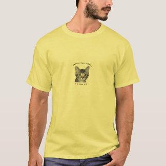 Kitten Rescue Spay Adopt Love Men's T-Shirt