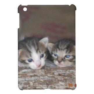 Kitten siblings iPad mini cover