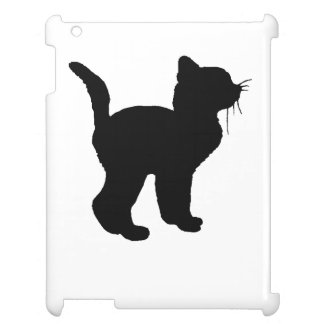 Kitten Silhouette Cover For The iPad 2 3 4