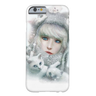 Kitten Winter Barely There iPhone 6 Case