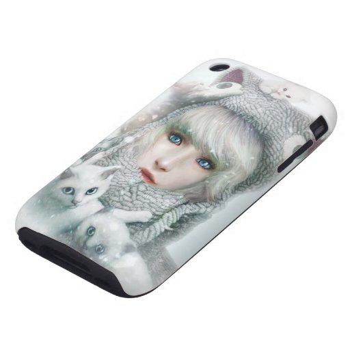 Kitten Winter iPhone 3 Tough Case