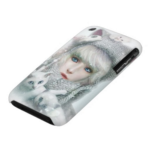 Kitten Winter iPhone 3 Covers