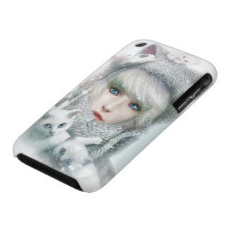 Kitten Winter iPhone 3 Covers