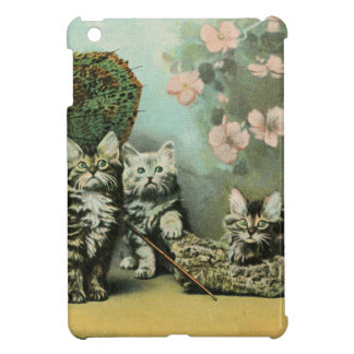 Kittens and Blossoms Cover For The iPad Mini