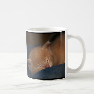 KITTENS ARE ANGELS WITH WHISKERS BASIC WHITE MUG