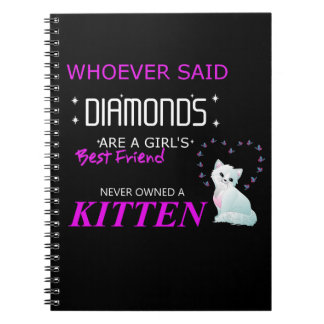 Kittens Are My Bff Photo Notebook