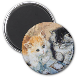 Kittens at Play Magnet