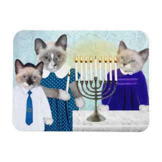 Kittens' Hanukkah Magnet