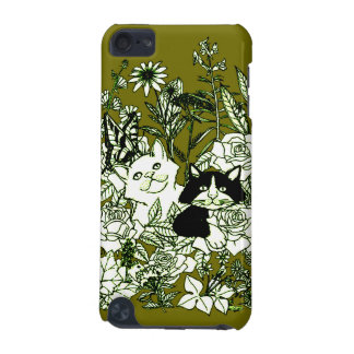 Kittens in the Wildflowers iPod Touch (5th Generation) Cover