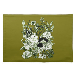 Kittens in the Wildflowers Placemat