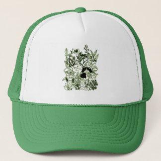 Kittens in the Wildflowers Trucker Hat