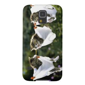 Kittens in underwear on clothesline galaxy s5 case