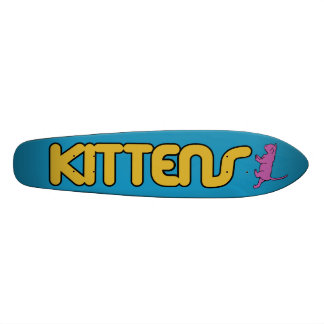 Kittens Old School Board Skateboard Deck