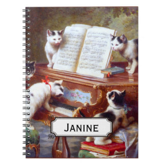 Kittens on the Keys Notebook