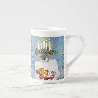 Kittens' Santa Lucia Tea Cup