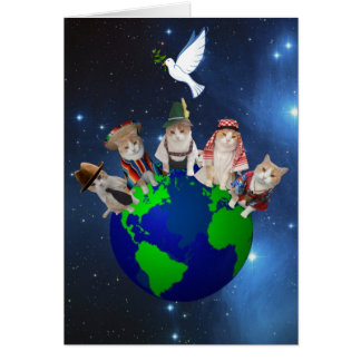 Kitties Around the World Card