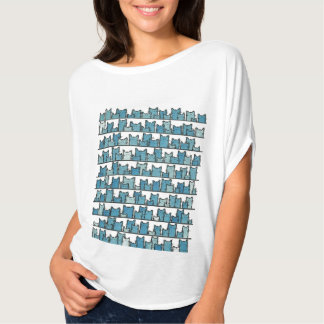 Kitties Don't Make Me Blue T-Shirt