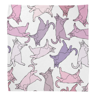 Kitties everywhere! bandana