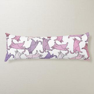 Kitties everywhere! body cushion