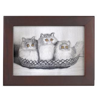 kitties keepsake box
