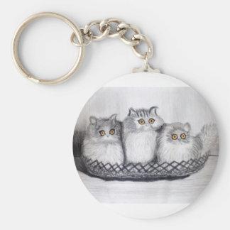 kitties key ring